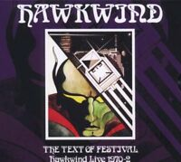 New: HAWKWIND - The Text Of Festival (Hawkwind Live 1970-2) CD