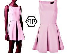 PHILIPP PLEIN `Ask for more` pale pink DOLL Dress ~ size: S / M ~ AUTEHNTIC