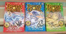 Beast Quest Series 17   3 Books 1,2 & 3