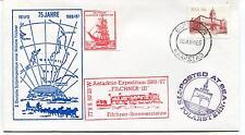 1986 75 Jahre Deutsche Sudpolexpedition Wilhelm Filchner Polar Antarctic Cover