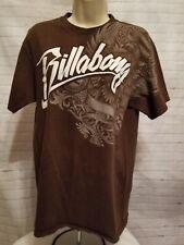 Billabong Short Sleeve Brown T-Shirt  Men's XL XLarge