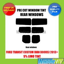 FORD TRANSIT CUSTOM (furgone PORTE) 2013 +5% Limousine post. pre-tagliato