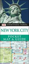 DK Eyewitness New York City Pocket Map & Guide *FREE SHIPPING - NEW*