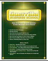 Guerrilla Business School: - T. Harv Ecker - 24CDs