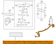 Chevrolet GM OEM 08-13 Corvette 6.2L-V8-Oil Cooler Pipe 15848590