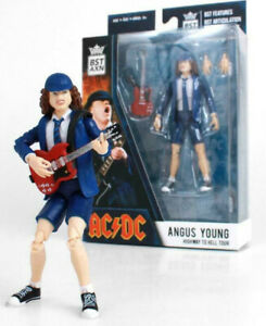 """AC-DC Angus Young Highway to Hell Tour BST AXN 5"""" Loyal Subjects Action Figure"""