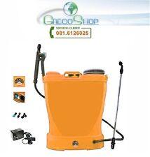 Pompa irroratrice con batteria ricaricabile a spalla/zaino 16lt