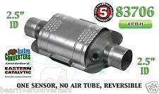 "Eastern 83706 Universal Catalytic Converter ECO II 2.5"" 2 1/2"" Pipe 10"" Body"