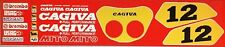 CAGIVA MITO 125 MAMOLA LAWSON REPLICA RESTORATION DECAL SET 2