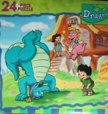 20-Yr.Old*Sealed*24-Pc.Dr agon Tales Puzzle*Pbs*w/Ord,Cassie,M ax,Emmy From 2000!
