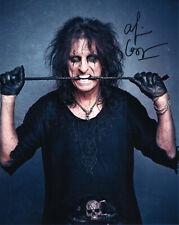 More details for original signed photo of alice cooper 10x8 + coa
