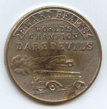 Exonumia Token Ward Beams (#8456) Worlds Champion Daredevils. 32Mm.
