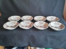 Johnson Brothers Olde English Countryside Set of 8 Coupe Soup Bowls