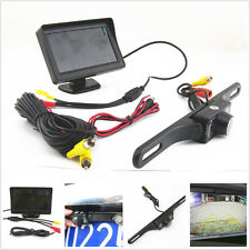 """Infrared Night Vision Automotive Reverse Camera Kit 4.3"""" LCD TFT Screen For Ford"""