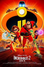 "The Incredibles 2 ( 11"" x 17"" ) Movie Collector's Poster Print(T6 )- B2G1F"