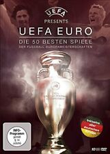 10 DVDs * UEFA EURO - DIE 50 BESTEN SPIELE  # NEU OVP