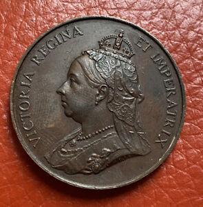 GB Queen Victoria 1897 Bronze Medal