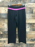 Nike Performance Women's Black & Hot Pink Athletic Workout Pants Size M