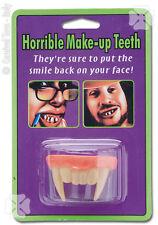 Dentier de vampire partie du haut thermoformable [6514] déguisement costume fête