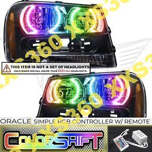 ORACLE Headlight HALO RING KIT Chevrolet TrailBlazer 02-09 ColorSHIFT LED Simple