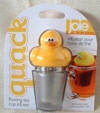 JOIE DUCK FLOATING TEA CUP INFUSER ~ 3 PIECE TEA INFUSER ~ NEW