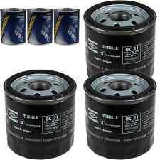 3x Original MAHLE / KNECHT Ölfilter OC 21 + 3x SCT Motor Flush Motorspülung