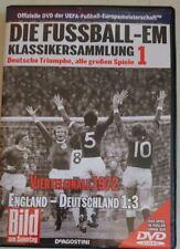 DVD - FUSSBALL-EM - VIERTELFINALE 1972 - England : Deutschland 1 : 3