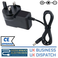 UK 9V AC DC Power Supply Adapter Compatible For CASIO AD-5 AD5 AD 5 Keyboard ad5