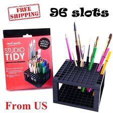 Pencil Holder Organizer Pen Storage Paint Brush Rack Marker Gel Pens Art Studio