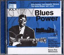Various 'MUSIC GUIDE VOL.4: BLUES POWER' CD New/Sealed - UK Mojo