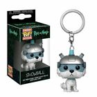 Rick and Morty Snowball Pocket Pop! Keychain 3.8cm Tall in Window Display Box