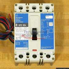 Cutler-Hammer HFD3030L A09 Circuit Breaker, 30 Amp, 65 kAIC, 2A/2B Aux Sw, Used