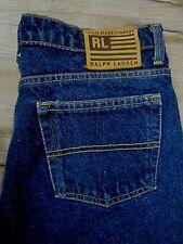 NWOT Ralph Lauren Jeans Womens Dark Wash Cotton Denim Boot Cut Leg 10 X 29