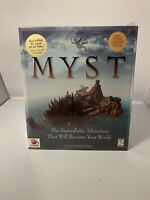 Myst CD-ROM for Windows 3.1 & Win 95 Big Box PC Game 1996 A Cyan Production New