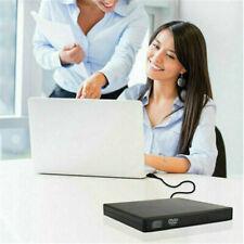 Externes DVD Laufwerk USB Brenner Slim CD RW für PC Laptop Notebook USB 2.0