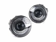 For 2001 - 2004 Dodge Durango Halo Projector Fog Light Clear Lens PAIR