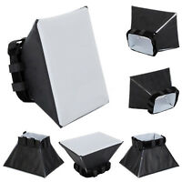 Universal Foldable Softbox Flash Diffuser Cover For Canon Nikon Sony Pentax