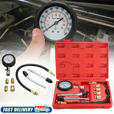 Cylinder Compression Gauge Tester Gas Petrol Engine Gauge Kit For Car Motorcycle