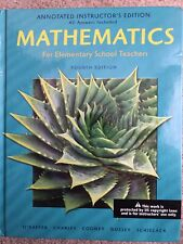 Mathematics For Elementary School Teachers 4e [Instructor'S Edition]; O'Daffer