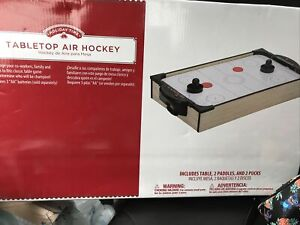 20″ Air Hockey Tabletop Family Fun Drinking Game Home Arcade Game