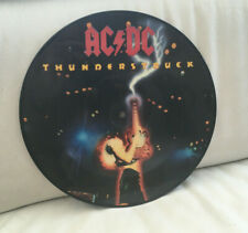 AC DC. THUNDERSTRUCK. 10'' PICTURE DISC. 1990. 2 TRACKS.