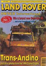 Land Rover Owner International - July 1994