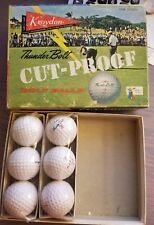 Kroydon Thunder Bolt Cut-Proof Golf Balls in Orig Box Two Sleeves 6 Balls Total