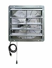 18in Exhaust Fan For Hot Air Mover Attic Ventilation Garage Shed Workshop Shop