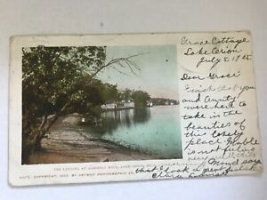 The Landing at Assembly Hall Lake Orion Michigan Postcard