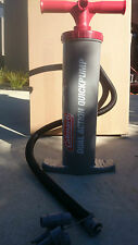 inflatable pump Ski Tube coleman p/pull13 litre huge