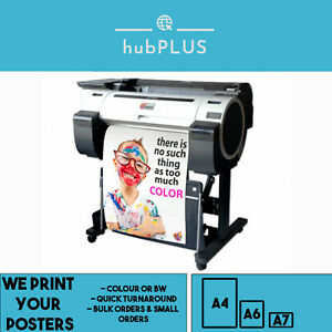 Gloss Poster Printing Full Colour A4 A3 200GSM For Personal Business Bulk Orders