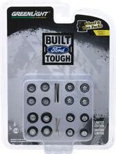 GreenLight 1/64 Body Shop  Wheel & Tire Packs Series 1 Ford Trucks 16010-B