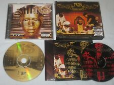 Nas (nasir jones) I am… & Streets Disciples 2 Albums (3 CDs) Thug Rap Hip Hop