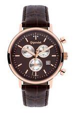 Uhr Armbanduhr Herrenuhr Chronograph Gigandet G6-009 Braun Datum Lederband